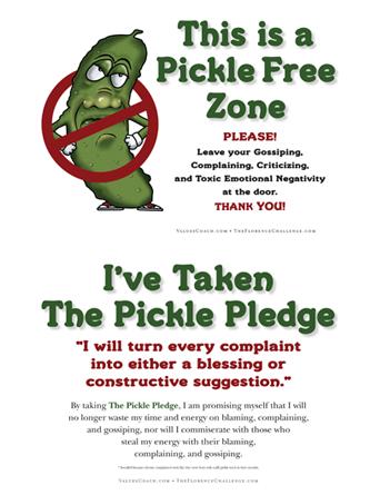 Pickle Pledge