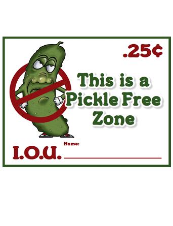Pickle IOU